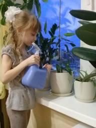 Люблю поливать цветы